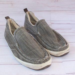 Margaritaville Mens Slip on Loafers Size 13